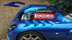 TVR Sagaris engine bay