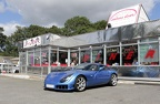 TVR Sagaris at Nelson's Diner