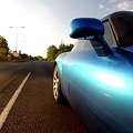 TVR Sagaris - rolling start