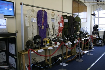 Flightsuits and helmets