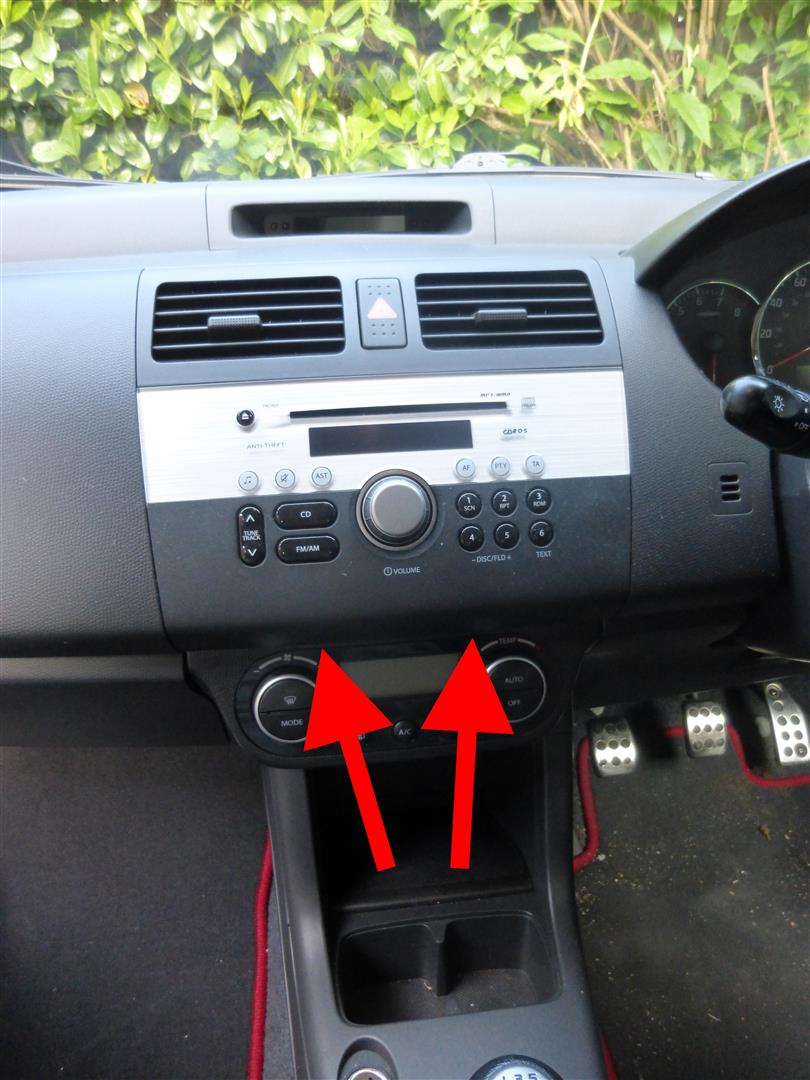 fitting an aftermarket stereo to the suzuki swift  u2013 datahamster