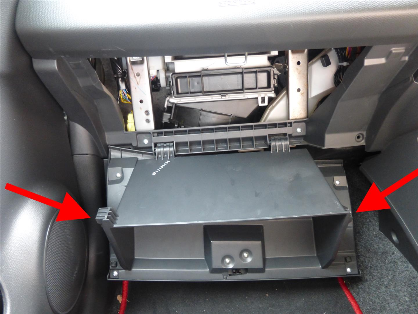 Fitting An Aftermarket Stereo To The Suzuki Swift Datahamster 2012 Wiring Diagram Glove Box