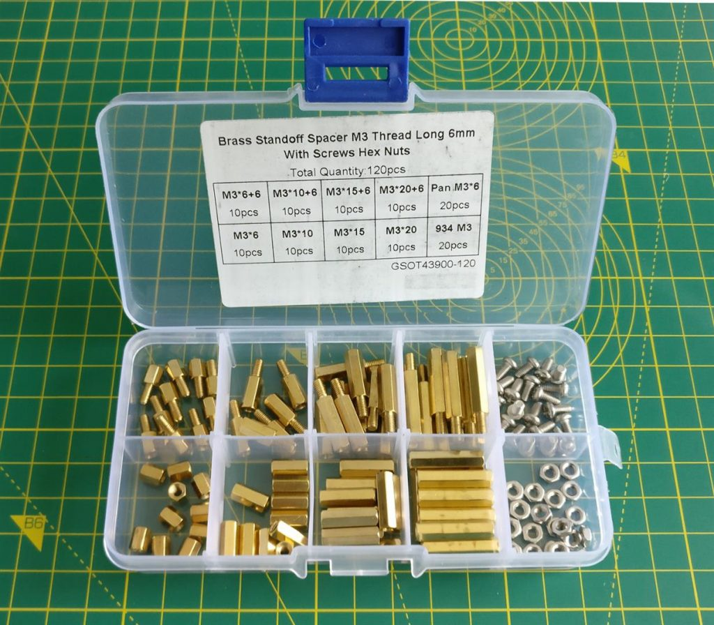 Brass Standoff Assortment