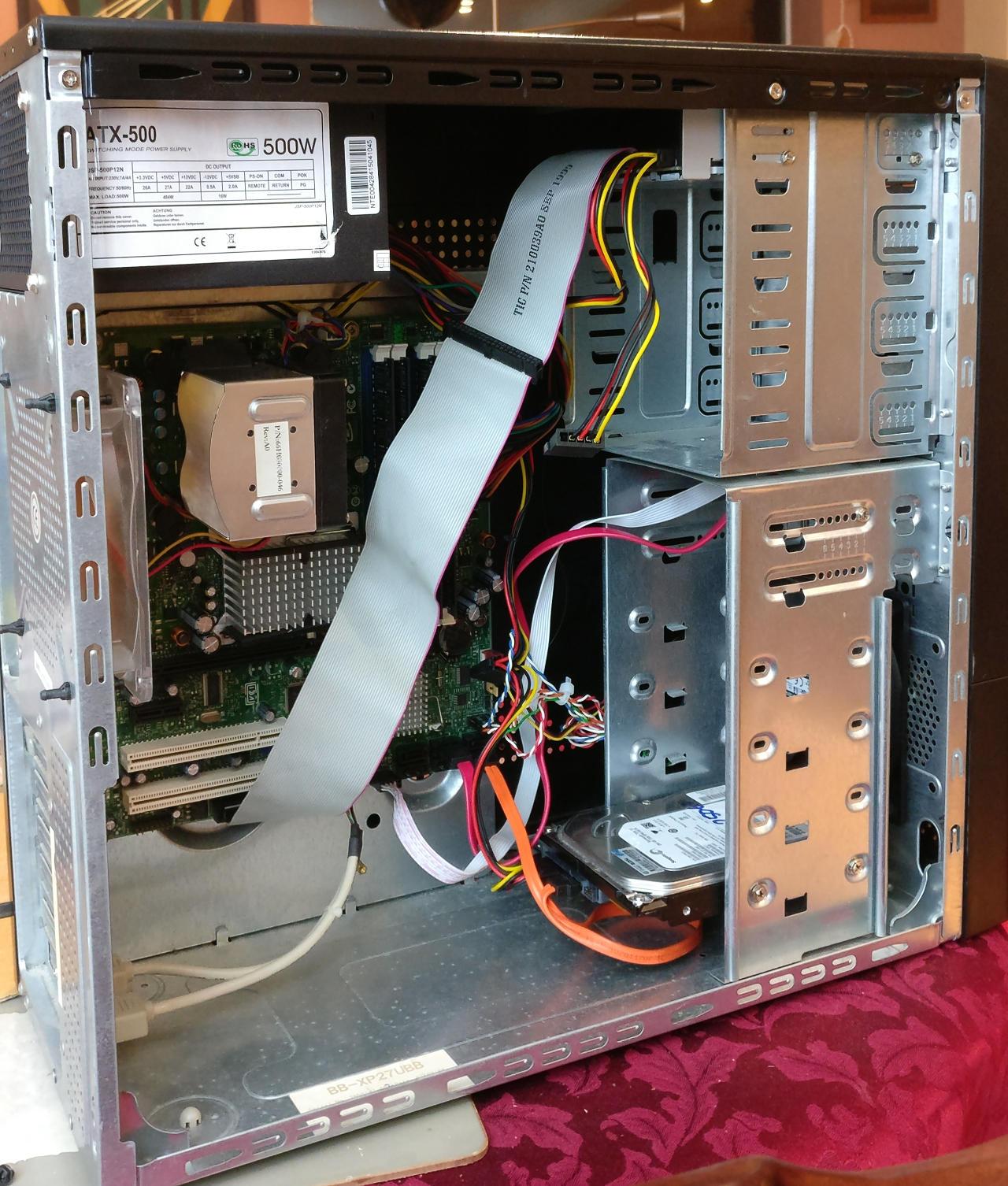 Building a Xeon E5645 FreeNAS server with a SuperMicro X8DTL