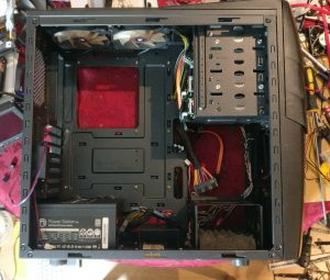 Cooler Master Enforcer, ready for the new innards