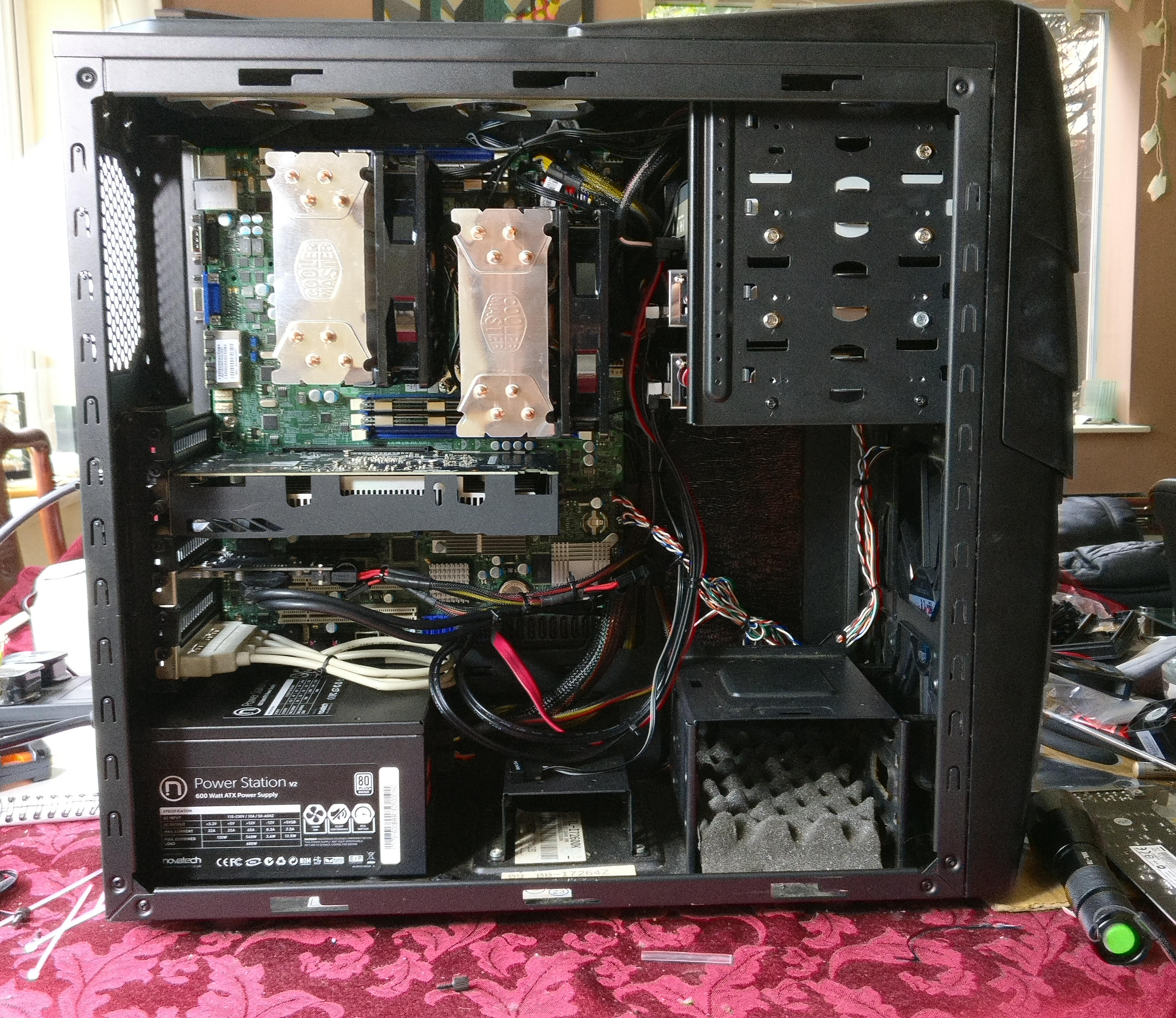 Building a dual Xeon X5680 workstation – DataHamster